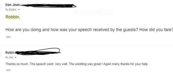 Mother of The Groom Speeches--How to make your son feel special on