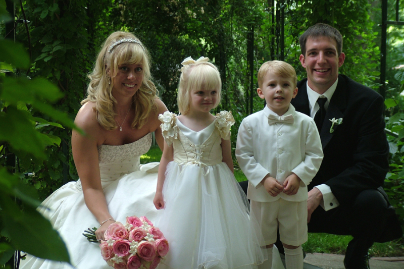 What should the father of the groom include in his speech