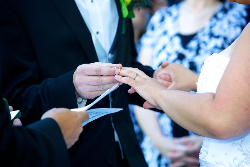 Bridal wedding vows heartfelt