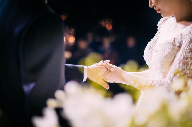 Heartfelt bride speech