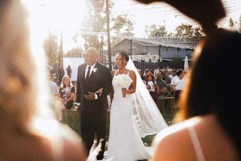 Faith based christian father of the bride wedding toast